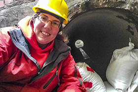 NGRREC Illinois RiverWatch Director and Stream Ecologist Danelle Haake